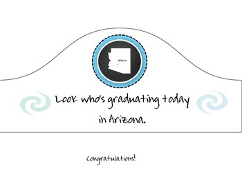 Arizona Graduation Hat