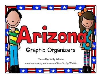 Arizona Graphic Organizers (Perfect for KWL charts and geo