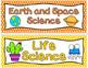 Arizona Science Standards for 1st Grade