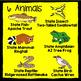 Arizona State Animal Informational Text Cards - An Animal