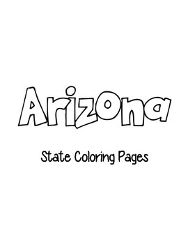 Arizona State Coloring Pages