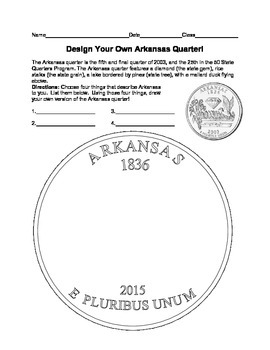 Arkansas Quarter Design