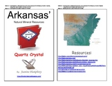 Arkansas Quartz Crystal Natural Resource