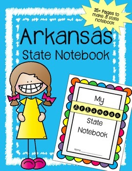 Arkansas State Notebook / US State History / Geography