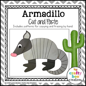 Armadillo Cut and Paste