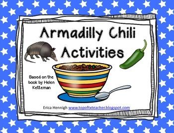 Armadilly Chili Activities Freebie!