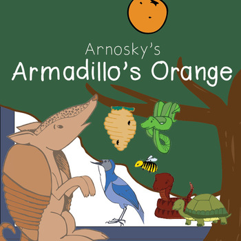 Arnosky's Armadillo's Orange and Friends Clipart