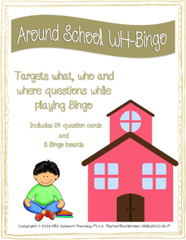 Around School WH-Bingo