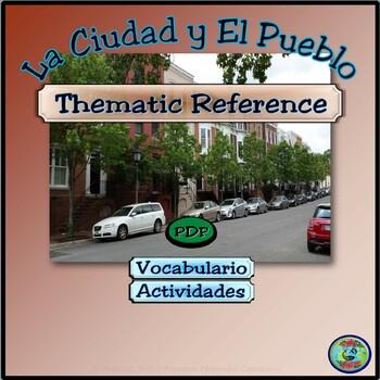 Around Town; Business Establishments Vocabulary / Vocabula