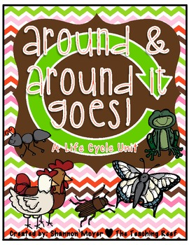 Around and Around It Goes! {A life Cycle Unit}