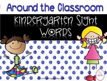 Around the World Kindergarten Sight Words