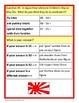Around the World Math Goofy Glyph (2nd grade Common Core)