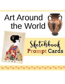 Art Around the World - Multicultural Art Sketchbook Prompts