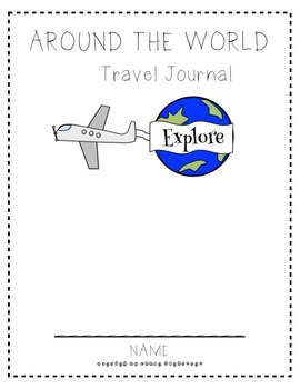 Around the World Travel Journal