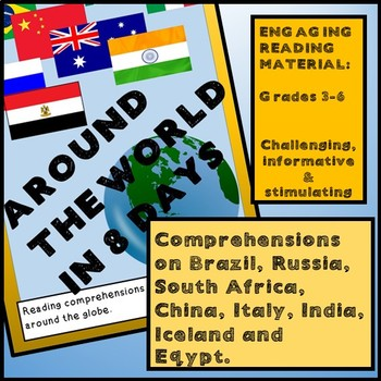 Reading Activities - AROUND THE WORLD IN 8 DAYS - India, I