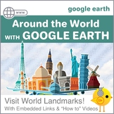Around the World with Google Earth--Elementary Scavenger Hunt