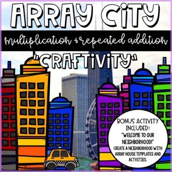 Array City Multiplication Craft Activity
