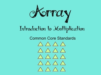 Array Math Bundle - CCSS
