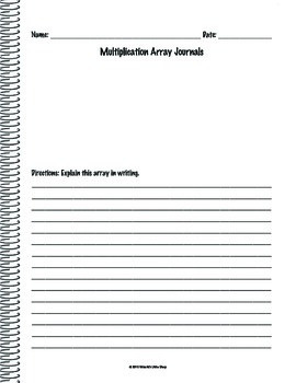 Array Math Journal
