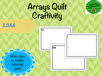 Array Quilt Craftivity