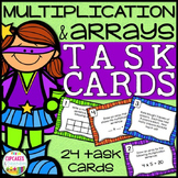 Arrays and Multiplication Task Cards