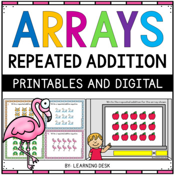 Arrays Task Cards (Repeated Addition)