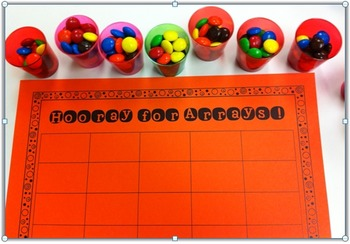 Arrays~ Math Work Mats for Building and Modeling {Freebie}