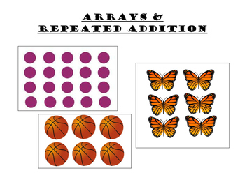 Arrays & Repeated Addition Project