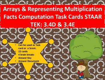 Arrays/Representing Multiplication Facts Computation Task