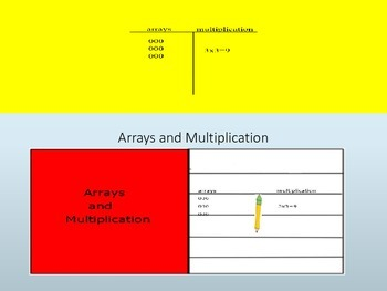 Arrays and Multiplication Interactive Lesson
