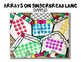 Arrays on Gingerbread Lane Multiplication Craft Activity