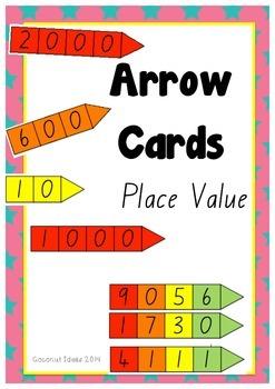 Arrow Cards- Place Value