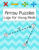 Arrow Math Logic Problems {Kindergarten & First Grade Thin