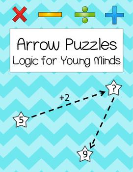 Arrow Math Logic Problems {Kindergarten & First Grade Thin