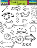 Arrow Stamps Clipart Set