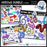 Arrows Bundle (Sets 1, 2 and 3) Clip Art - Whimsy Workshop