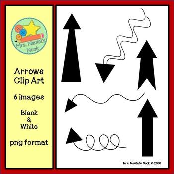 Arrows Clip Art - Freebie
