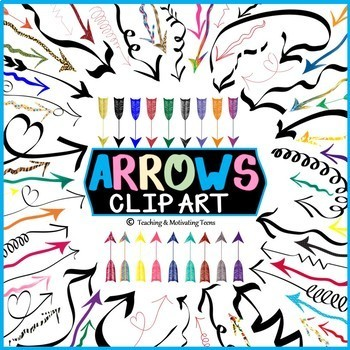 Arrows Clip Art - Graphics and Printable - Commercial Use Okay