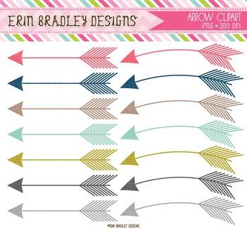 Arrows Clipart Graphics Bundle
