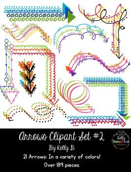 Arrows Set #2 Clipart by Kelly B