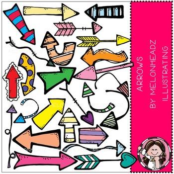 Melonheadz: Arrows clip art