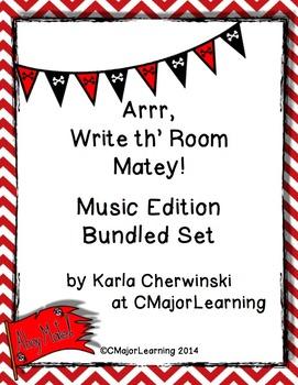 Arrr, Write th' Room Matey! Music Edition Bundle