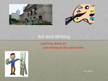 Art And Writing