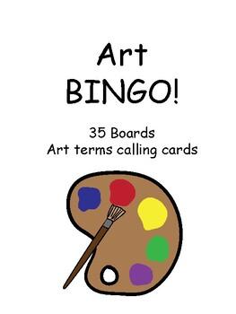 Art BINGO!