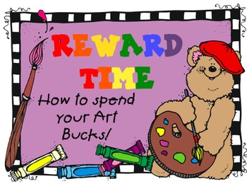 Art Bucks and Reward Package
