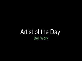 Art Class Bellwork