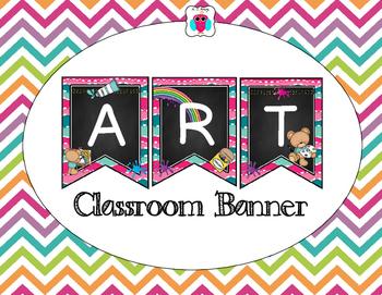 Art Classroom Banner