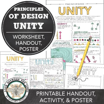 Art Classroom Basics: Principles of Design Unity Activity