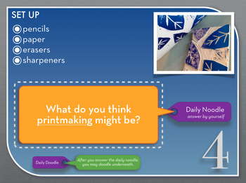 Art Classroom Management, STREAMLINED! The Daily Noodle-Do