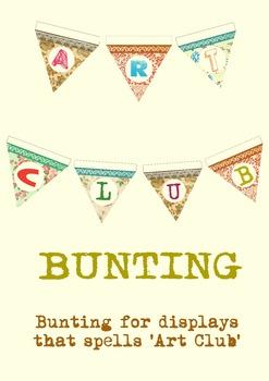 Art Club Bunting